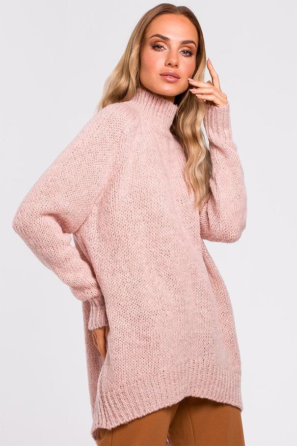 ružový pulóver