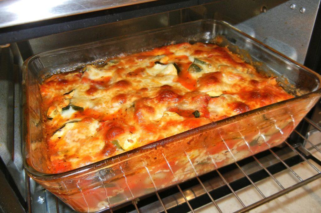 Zapečené paradajkové gnocchi