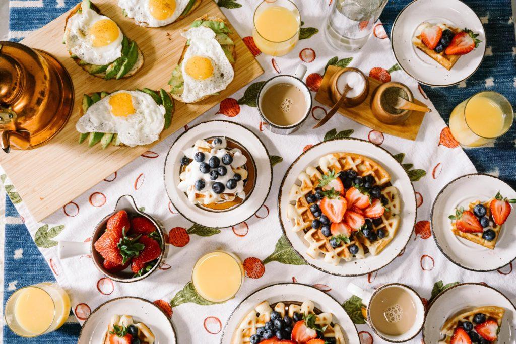 bohaté raňajky