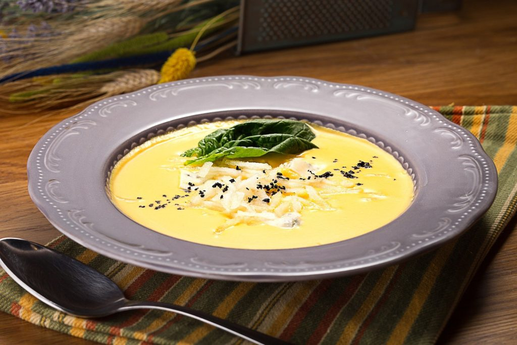 brynzdzová polievka