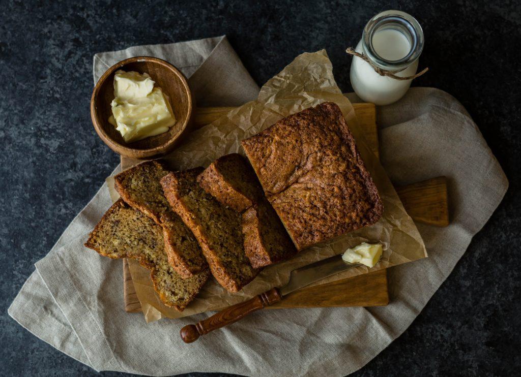 Banánovo-čokoládový chlebík