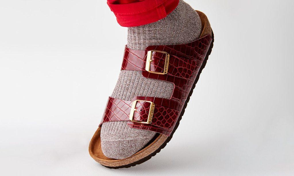 Pridrahé sandále, birkenstock, typické korkové sandále, štýlové sandále.