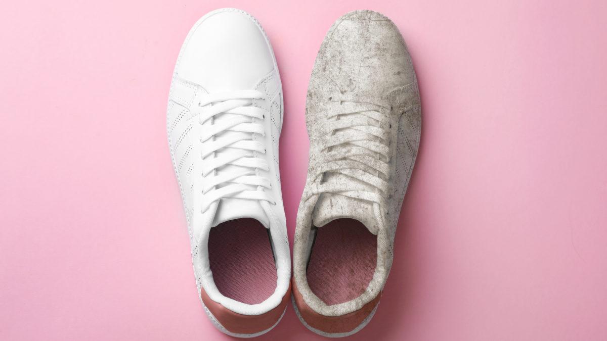 Ako vyčistiť biele tenisky?